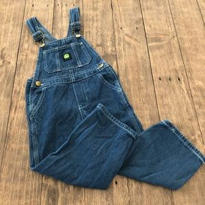 John Deere Blue Denim One Piece Overalls 4T Bibs